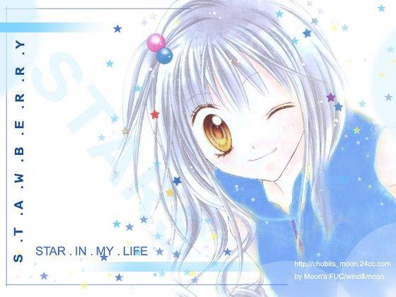 ☆藍髮女孩---* :]