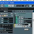 10. 打開MIDI channel 的 MONITOR, 使得接收到的MIDI訊號會立刻OUTPUT給VST Instrument