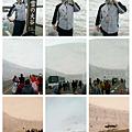 立山雪壁喝雪碧。