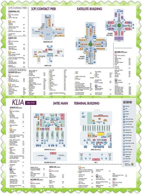 KILA機場地圖