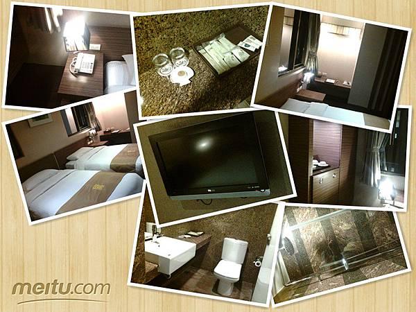 百悅飯店房間拼貼
