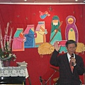 廖昆中牧師祝禱