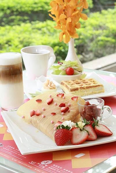 天成大飯店 Taipei Garden Café 雙人下午茶.JPG