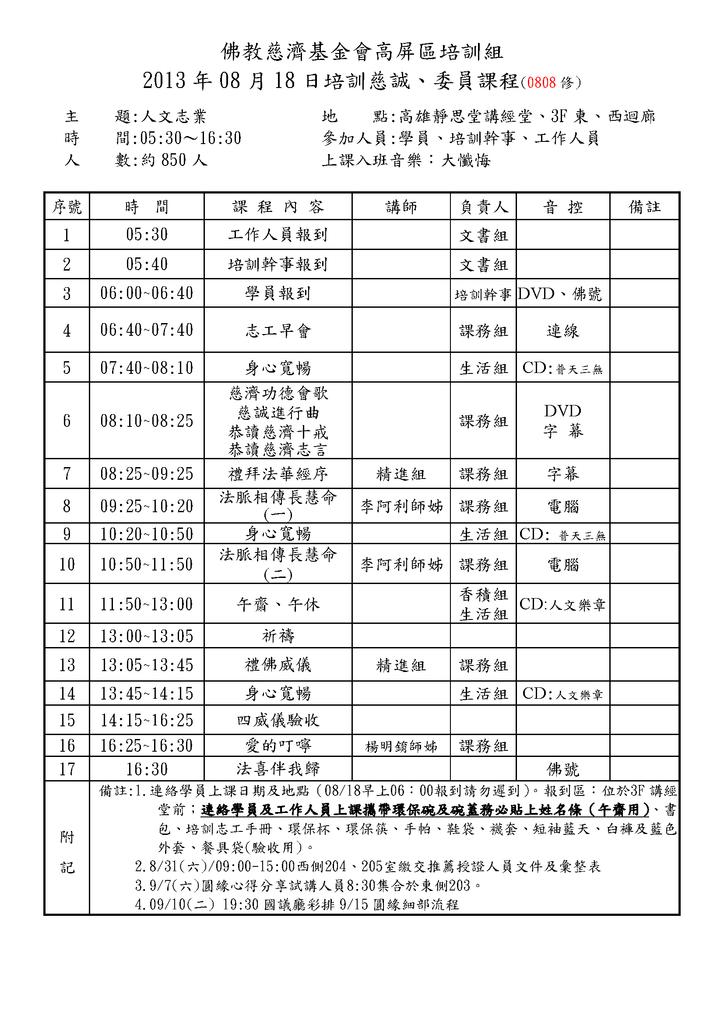 2013.08高雄區培訓組課程表0080
