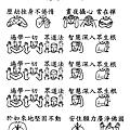 16手語妙音提示圖-無量義經偈頌-德行品之九
