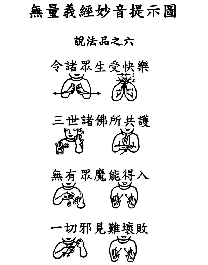 24手語妙音提示圖-無量義經偈頌-說法品之六(令諸眾生受快樂).png