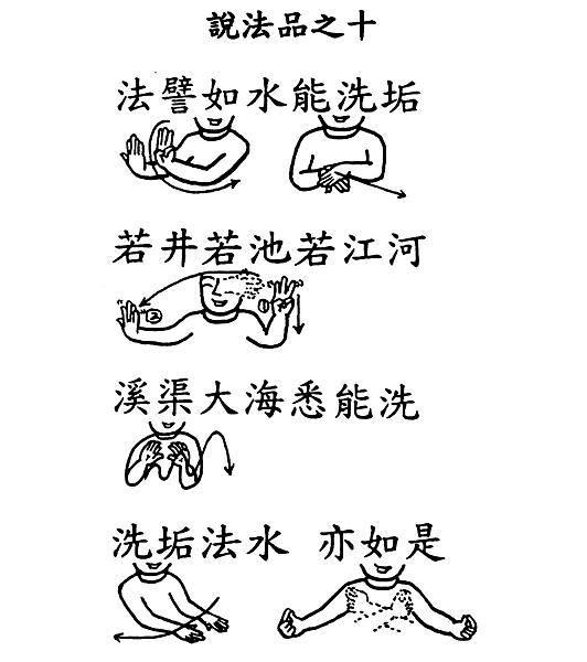 30手語妙音提示圖-無量義經偈頌-說法品之十(法譬如水能洗垢).png