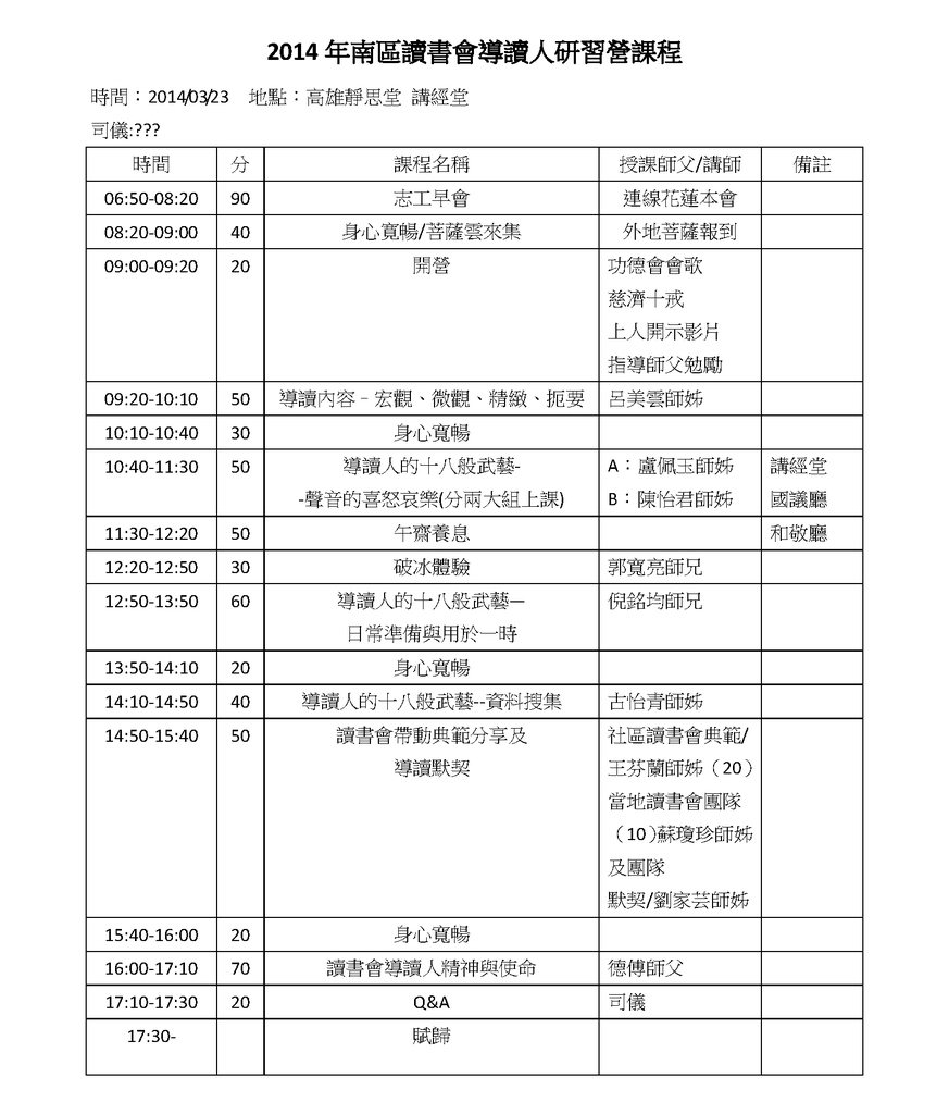 2014年讀書會導讀人研習營課程草案(高雄)20140312.png