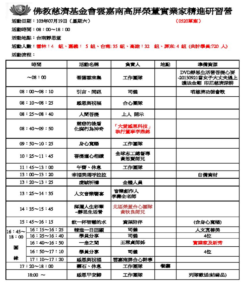 佛教慈濟基金會雲嘉南高屏精進日課表0521.png