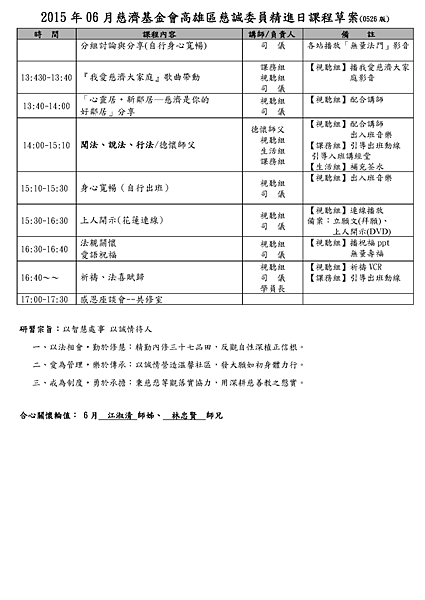 2015 年 06 月慈濟基金會高雄區慈誠委員精進日課程草案(0526 版)_頁面_2.png