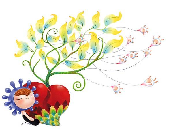 朵朵風 種 籽 睡 在 風 裡