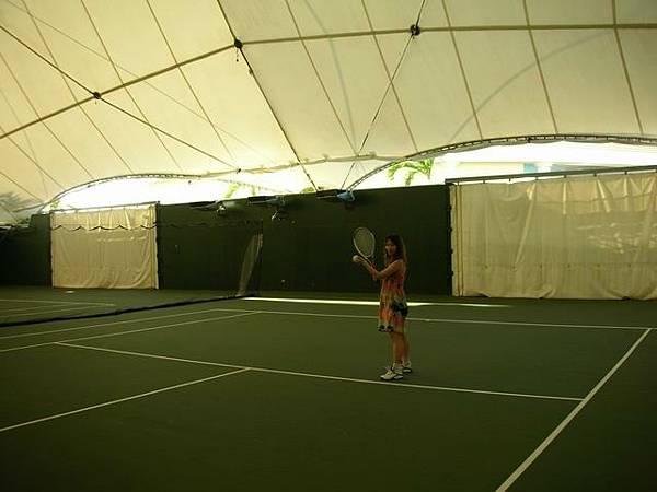 室內網球場
