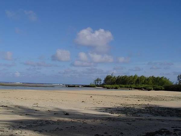 這是一個私人的海灘