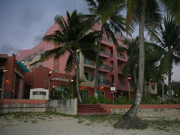 粉紅色的聖塔菲飯店