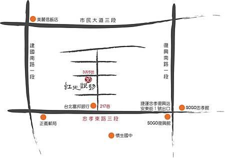 虹光觀邸地圖10305
