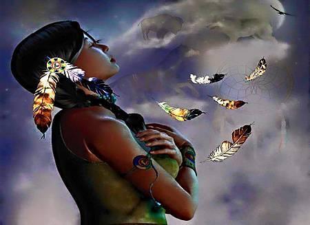 溪族印第安~禱詞
