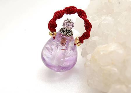紫水晶瓶A