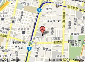 中山堂地圖