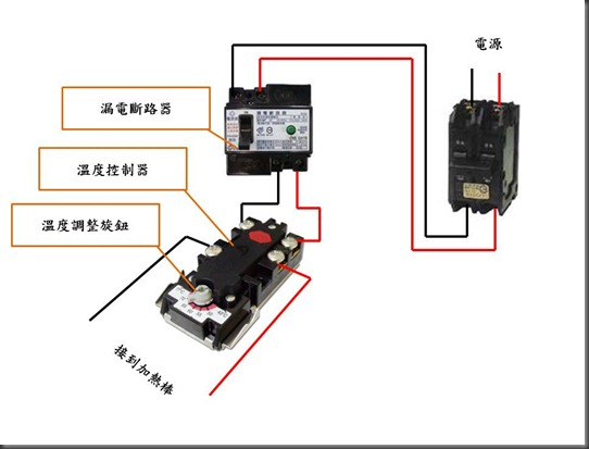 溫度控制器電路