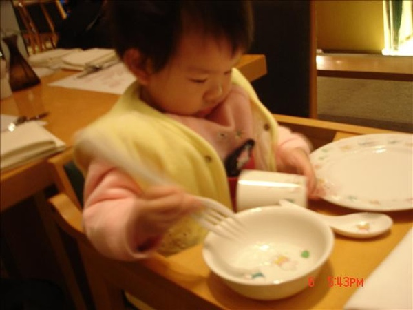 Dinner Time:寶寶有自己的餐具