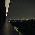 從陽台外拍的美麗蘭陽夜景