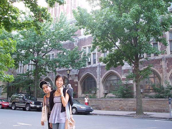 耶魯大學一景