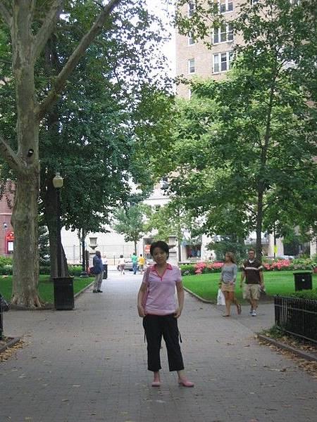 中央公園一景