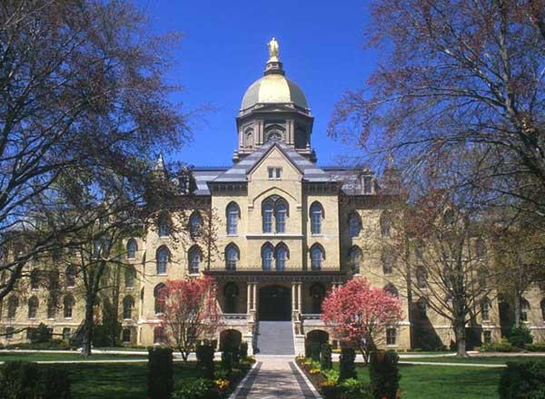 美國top30美國大學SAT成績要求- 聖母大學(University of Notre Dame)