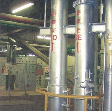台電來電之旅深澳發電廠~火力發電廠的粉煤管