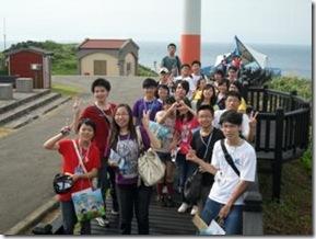 合照:99年愛迪生研習會~石門風力發電站