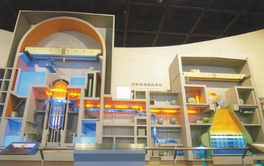 核反應爐模型