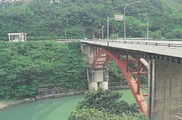 桂山電廠之心動旅程~觀光大橋即進入烏來風景區
