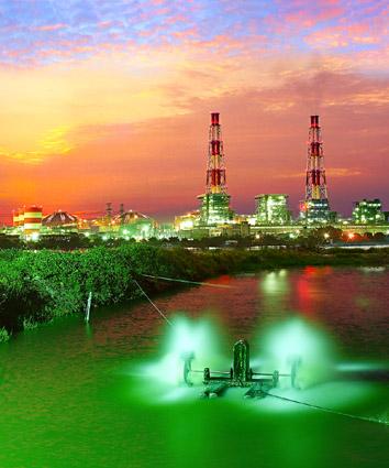 98年台電之美攝影比賽~電力組銀牌獎--發電廠之美/梁郡芳