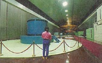 台電寒暑期教師研習,台電電廠旅遊,明潭與大觀為地下化電廠