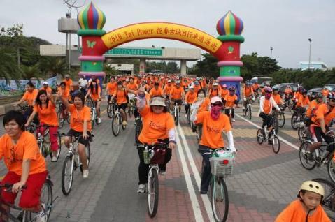 旅遊恆春古城騎自行車