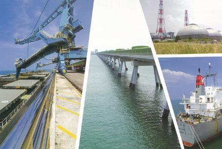 台電月刊興達電廠海外海卸煤碼頭~綠色發電廠
