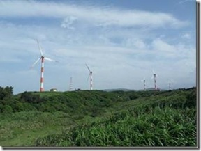 石門鄉風力發電 :99年愛迪生研習會~石門風力發電站