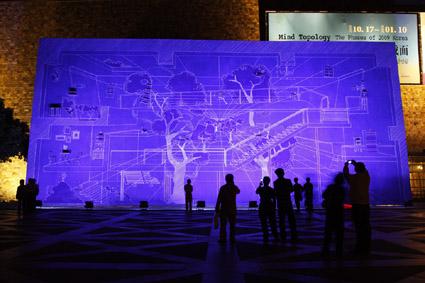 98年台電之美攝影比賽~生活組金牌獎-藍晒圖的驚艷/賴富美