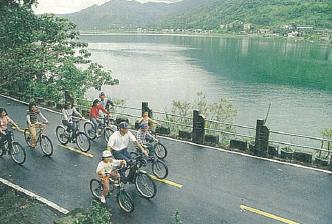 台電教師研習營花蓮木瓜溪龍澗電廠旅遊介紹~鯉魚潭