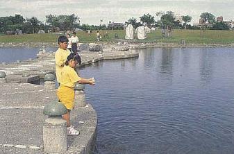 台電教師研習營蘭陽電廠旅遊介紹~羅東運動公園