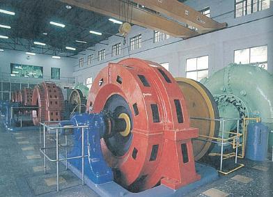 台電教師研習營蘭陽電廠旅遊介紹~法蘭西斯式水輪發電機