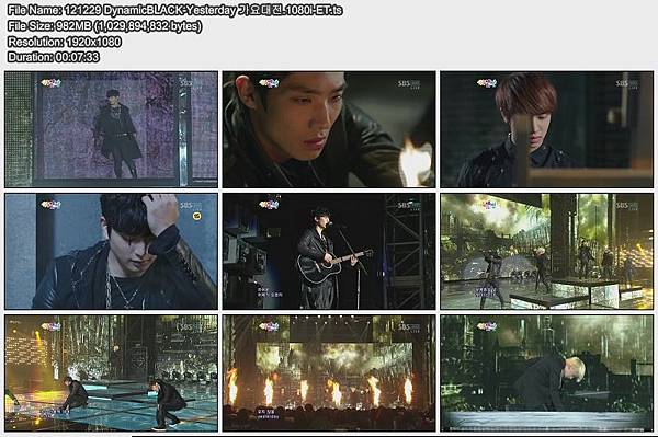 121229 DynamicBLACK-Yesterday 가요대전.1080i-ET