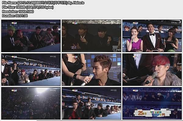 [2012.12.29]SBS가요대전(자투리컷) By. Heira