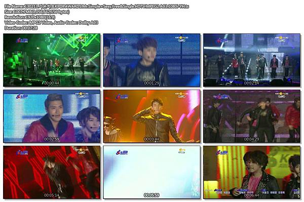 130213.가온차트KPOPAWARDS.Mr.Simple_Sexy%2CFree%26Single.HDTV.MPEG2.AC3.1080i-YH.ts