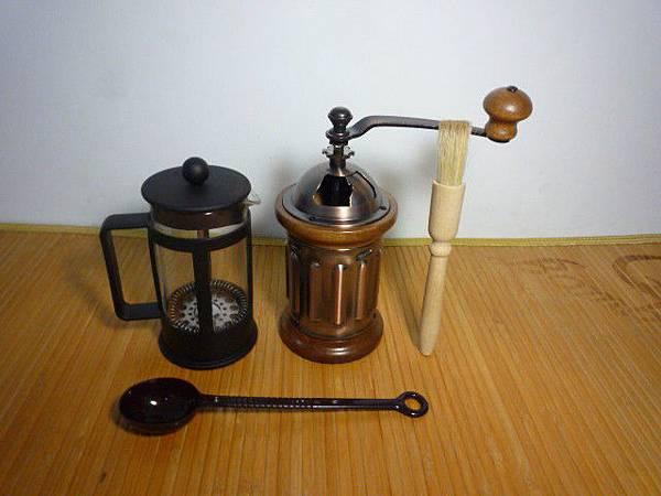 泡咖啡器具大合照