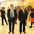 劉兆凱董事長與黃茂雄會長