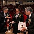 郭瑞嵩董事長與劉兆凱董事長與史欽泰總召集人