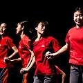 花蓮高工原住民舞蹈隊 彩排