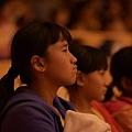 參與學童欣賞演出