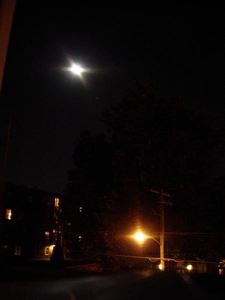 2007年中秋節晚上的月亮